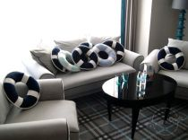 Lifebuoy Pillows in Hanza Hotel